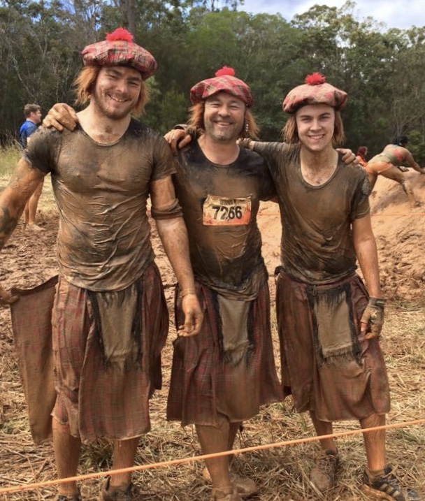 Family tough mudder
