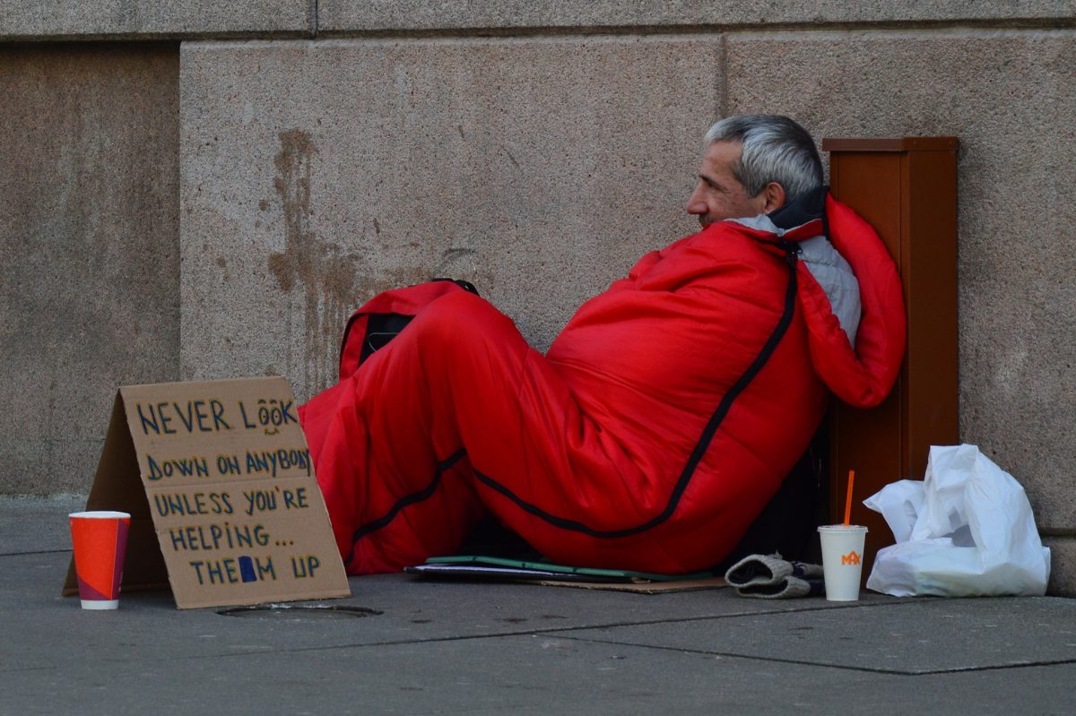 How to change the world – by Steve the homeless guy