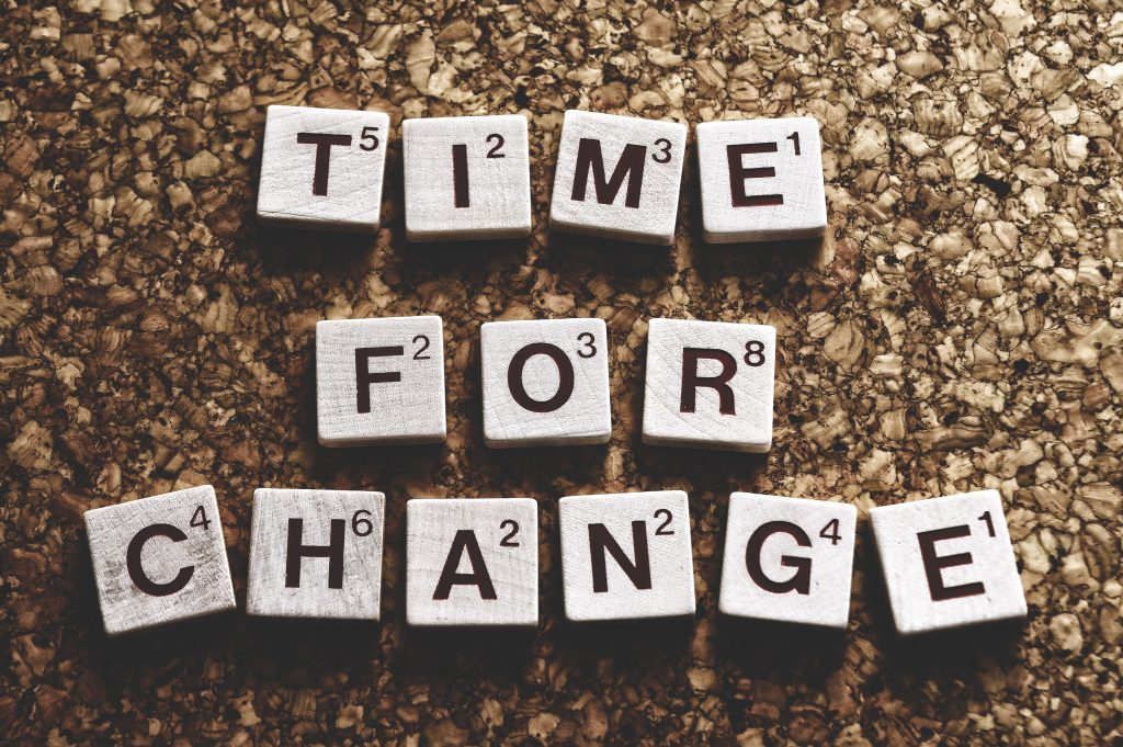 Mind your language - Time for Change